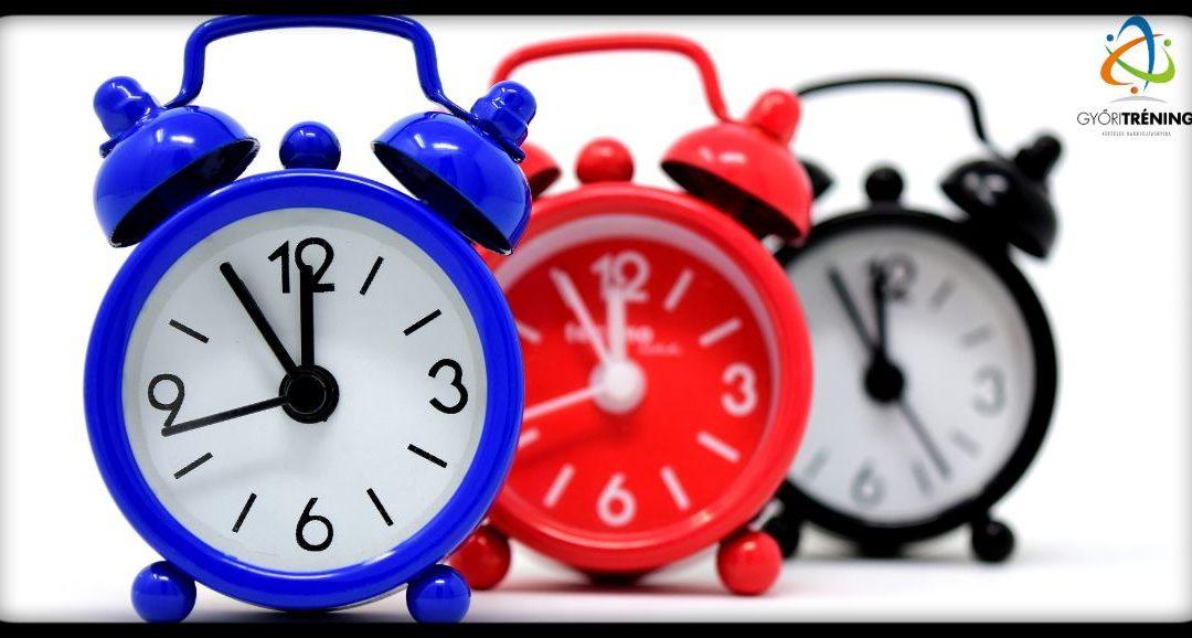 Prioritások felállítása – időgazdálkodás tréning