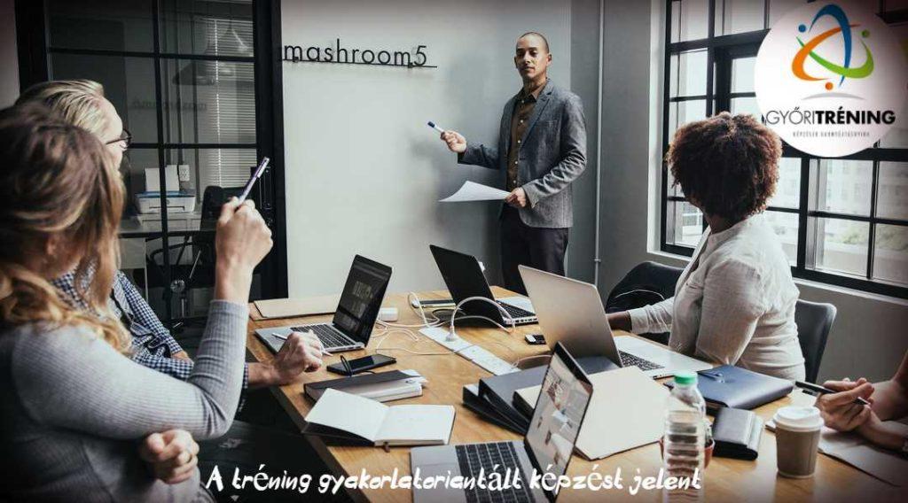 üzleti tréning - a lényeg a gyakorlás