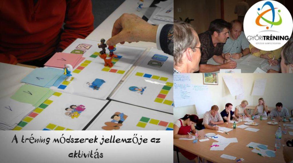 A tréning módszerek és tréning gyakorlatok jellemzője az aktivitás.
