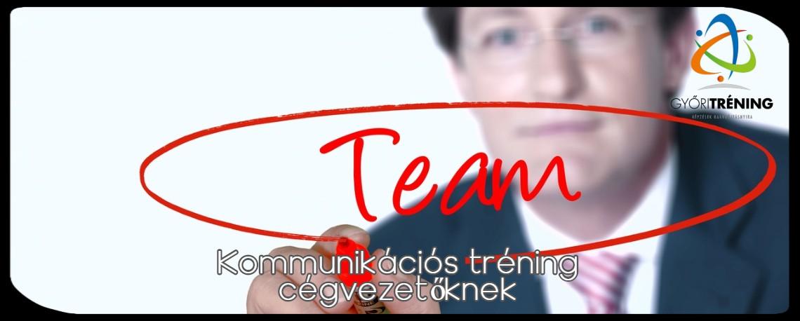 Kommunikációs tréning cégvezetőknek Győrben