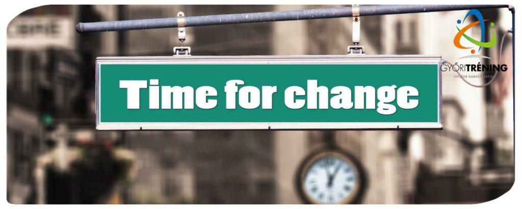 stratégiai változásmenedzsment - mindig van előjele