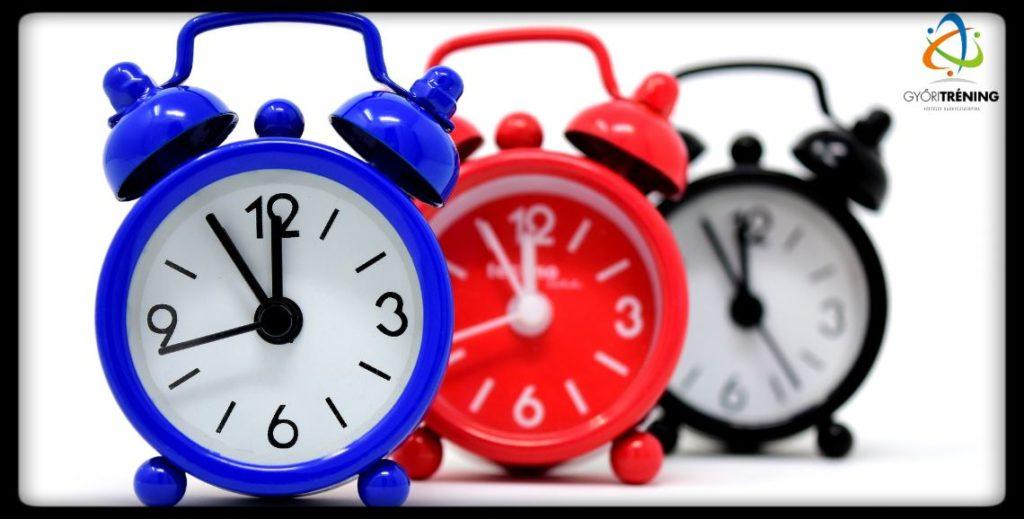 stratégiai változásmenedzsment - időt kell rá teremteni